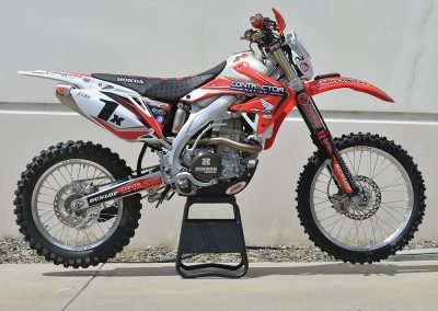 Chris Haines Race Bike