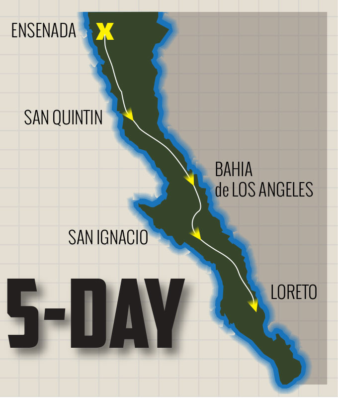 Bahia De Los Angeles Map.5 Day Baja Tours Chris Haines Baja Offroad Tours