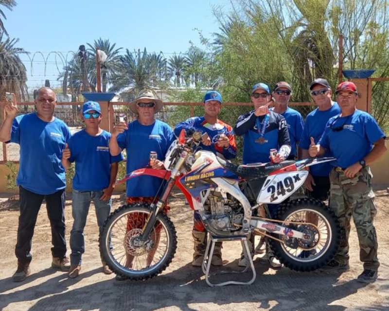 Chris Haines Motorcycle Adventure Company Chalks Up Another Win!
